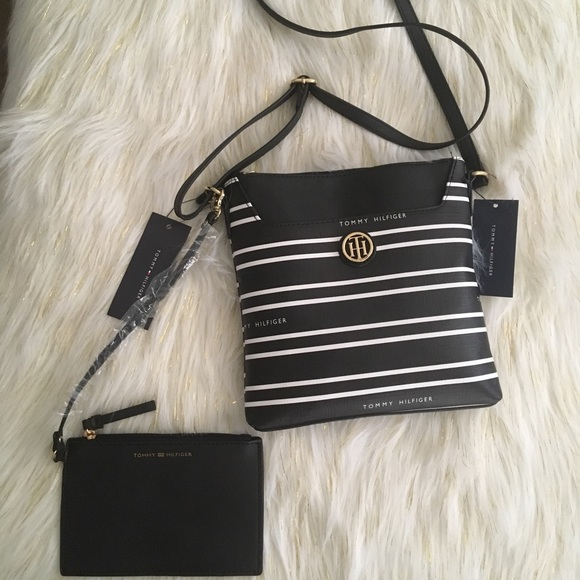 481d288c996 Tommy Hilfiger Bags | Striped Crossbody | Poshmark